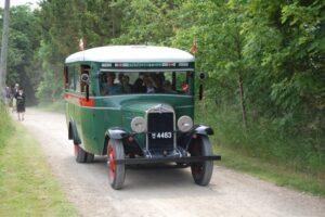 """Chevrolet Six årgang 1931 udlånt til Andelslandsbyens """"Holbæk i Krig""""-arrangement i juni 2014."""