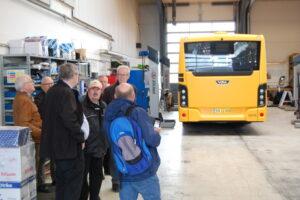 Fra vor medlemsudflugt til Lokalbus i Køge i maj 2018.