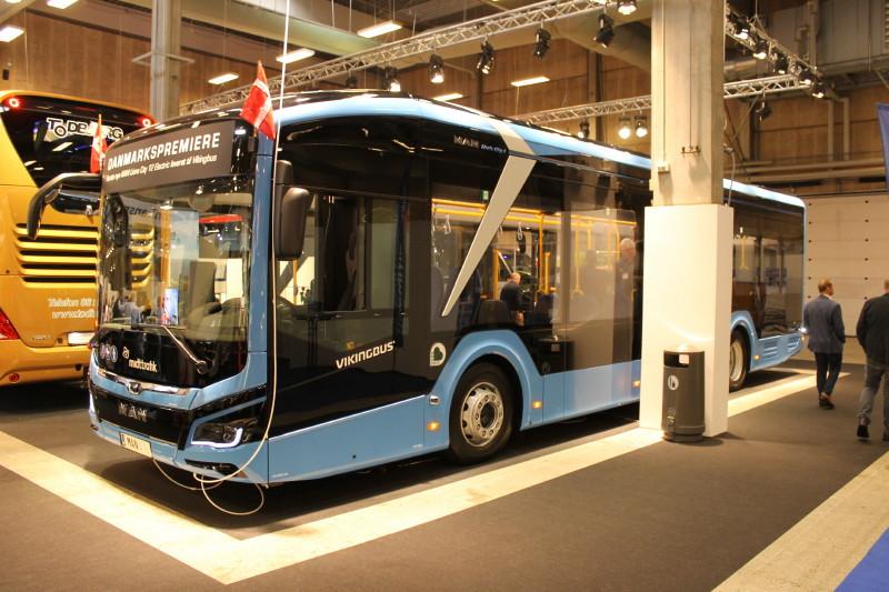 Vikingbus har vundet lokalruterne i Odder, og indsætter herpå MAN Lions City 12 Electric. Her ser vi den første af dem.