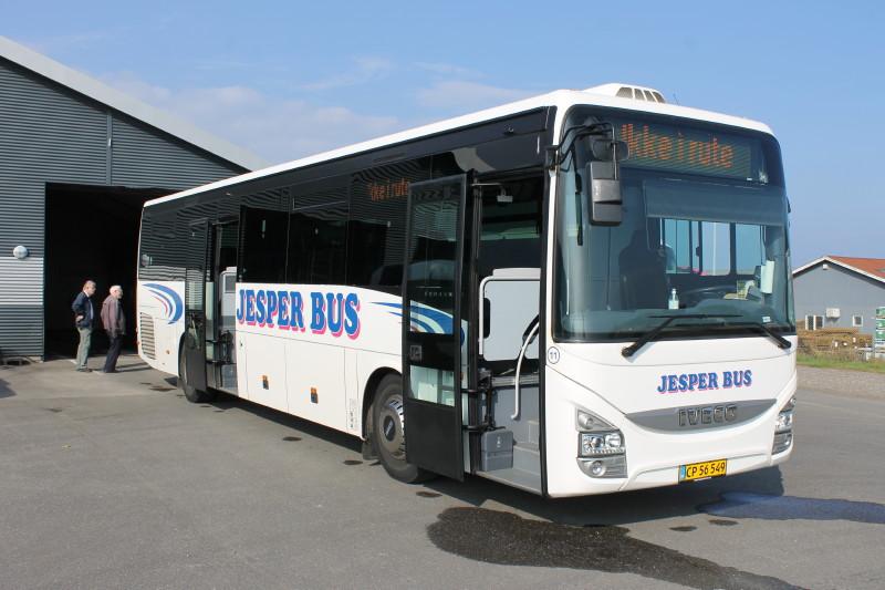 De nyeste af rutebilerne er Iveco Crossway med ZF Ecolife-gear, som kører op mod fire kilometer literen.